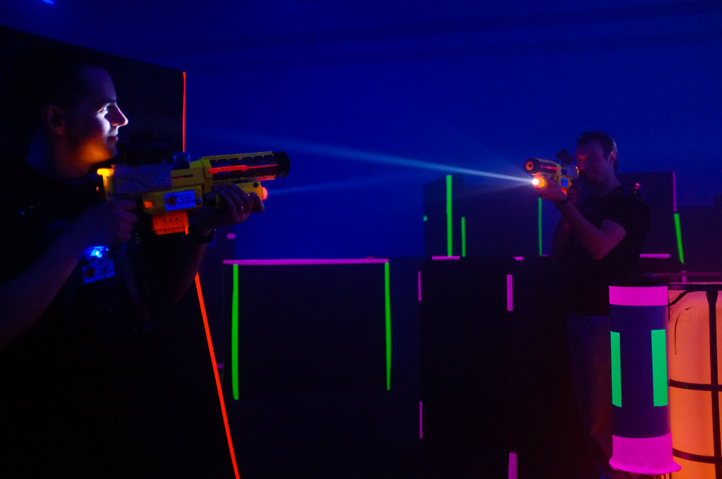 Play With All The Caution and Fun Using Laser Tag Singapore